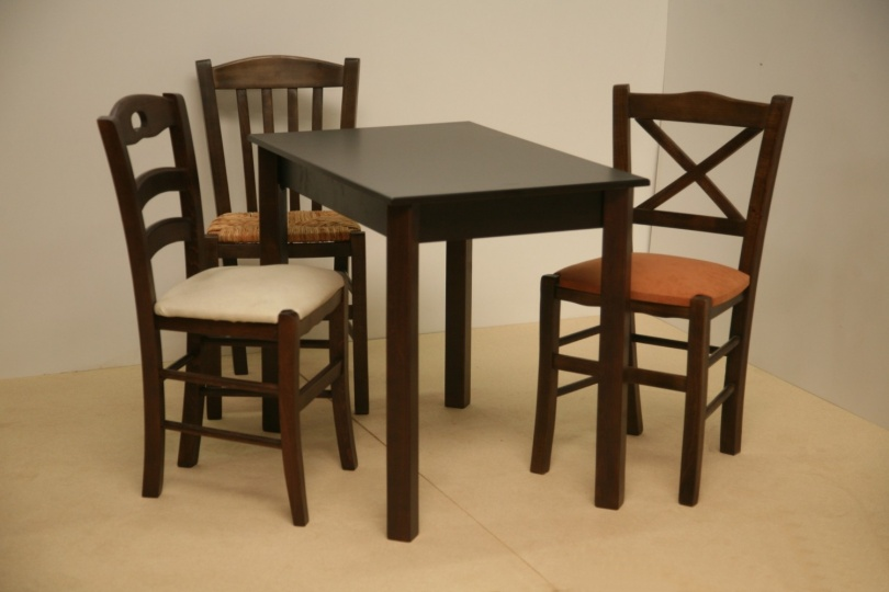 gastronomie m bel gastronomie st hle tische barst hle tisch 60x80 wenge. Black Bedroom Furniture Sets. Home Design Ideas